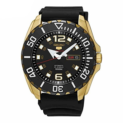 (Seiko) Seiko Mens Watch 5 Sports Baby Monster Analog Casual Quartz JAPAN SRPB40J1-SRPB40J1