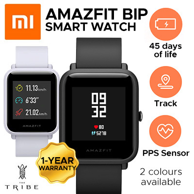 f9980564ab3 Xiaomi Huami Amazfit Bip Pace Youth Smart Watch MiFit 1 year warranty