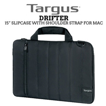 TARGUS Drifter Slipcase With Shoulder Strap for Mac / 15in / Water Resistant / Protects from scratch