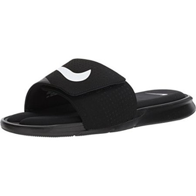 a7308614eb0b Nike NIKE Ultra Comfort Slide Mens Fashion-Sneakers 882687-003 9 - Black  White
