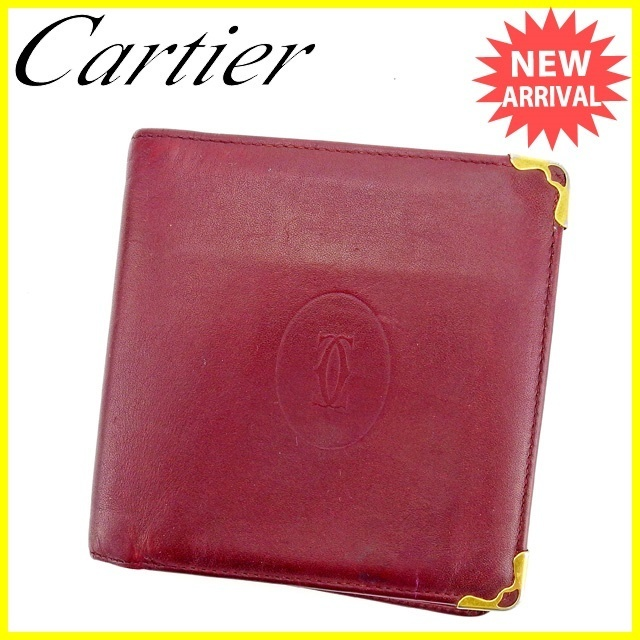 8abcc708b3 fit to viewer. prev next. Cartier Cartier Folded Wallet Wallet Ladies 'Men'  ...