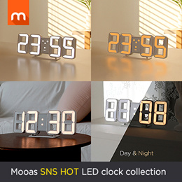 [KOREA NO.1 BRAND] LED Clock collection / SNS HOT LED clock / interior / home styling