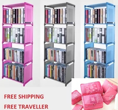FREE GIFT AND SHIPPINGInstockBookshelf Book Shelf Organizer Kitchen Rack