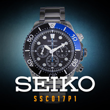 SSC017 SSC017P1 SSC017P Seiko Men Watch SOLAR V175 200m Sport Warranty