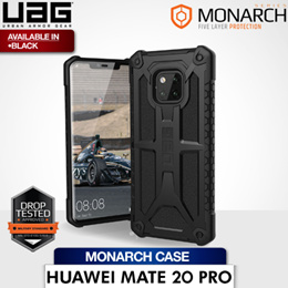 UAG Huawei Mate 20 Pro Monarch Case Black (Matte) Available from mid november