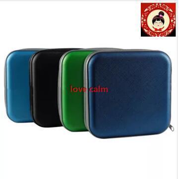 b9b98e92a9db New 40 Disc CD DVD Storage Zipper Bag Case Hard Box Wallet Album Holder