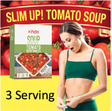 [3 Pouches] Tomato Vegetables Soup
