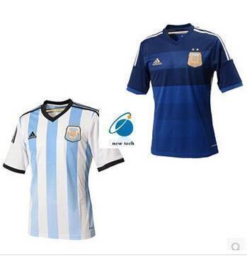 cheap for discount 12f47 5bdc6 Away Jersey Argentina national team soccer jerseys short-sleeved dress  shirt Thai version of the 10t