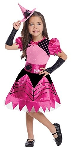 9a17a4ee (Rubie s) Girls Barbie Witch Kids Child Fancy Dress Party Halloween Costume-  (
