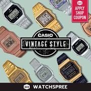 *APPLY SHOP COUPON* CASIO VINTAGE STYLE WATCHES SERIES! Free Shipping and 1 Year Warranty.