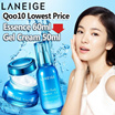 [Laneige] ☆Qoo10 Lowest Price + Freeshipping★ Water Bank Line - Essence 60ml / Gel Cream 50ml