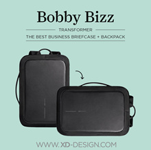 XD Design Bobby Bizz 3rd Gen Anti-Theft Triple Function Bag with ORIGINAL  Shoulder Strap + 1 Gift c30b141fd578