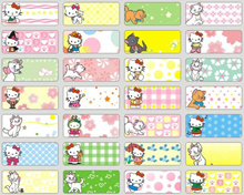 (S)Personalized Waterproof Name Sticker-( Small Size:22mm*9m ) /Cute lovely Useful Name Labels/Frozen/Mickey Mouse/Hello Kitty