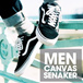 NEW COLOUR UPDATE!SALE BESAR-BESARAN ★ CANVAS SNEAKERS BEST SELLER ★ CASUAL FOR MEN ★ High Quality Low Budget ★ GRAB IT FAST!