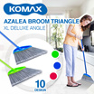 Azalea Broom Large Straight / Super Triangle /  XL Deluxe Angle /  Two Tone Angle [ Plus Gagang ]