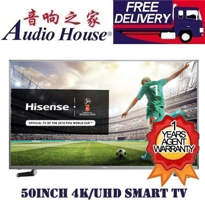 Hisense[LOWEST PRICE GUARENTEED] HISENSE 50Inch ULTRA HD 4K LED SMART TV  (M5010)
