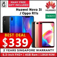 Huawei nova 3i 4/128GB   Oppo R11s 4/64GB 2 Years Manufacturer Warranty