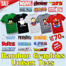 【New Arrivals】☆ Superheroes Marvel DC Avengers ☆ 100% Cotton t shirt / Couple tee/ short sleeve