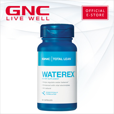 Gncgnc Total Lean Waterex 60 Capsules Slimming Weight Loss Weight Management Diet