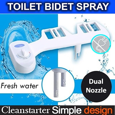 ◆ 🚽INSTOCK BTO Luxury Bidet Attachment ✔️Adjustable Buckle ✔️Fit All Toilet Bowl✔️SG Warranty