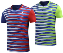 2017 Badminton Pingpong sports jersey tshirt (men women size) 9054