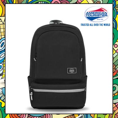 2bc669d1a6 Qoo10 - American Tourister Burzter Backpack 02 (Black)   Bag   Wallet
