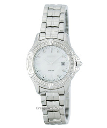 [CreationWatches] Seiko Quartz Diamond Accent 100M SXDA97 SXDA97P1 SXDA97P Womens Watch
