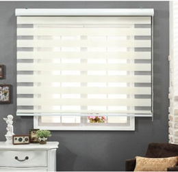Korean roller blind thickening soft curtain double venetian blinds balcony bedroom finished custom