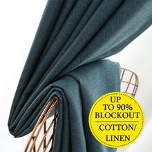 Roman Blackout Curtain ★ 92% Sunlight Blockout ★ HDB Curtain ★ Condo/House Curtain ★ Stylish Design
