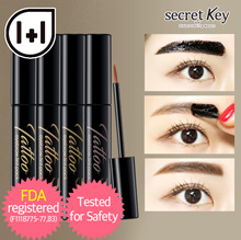 【Secret Key HQ Direct Operation】❤1+1❤ Tatoo Eyebrow Tint Pack 4 colors/5 Free of harmful ingredient!