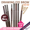 GET 4PCS Drawing Eye Brow NEW