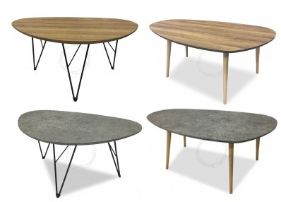 Modern Coffee Table Scandinavian Style Free Delivery