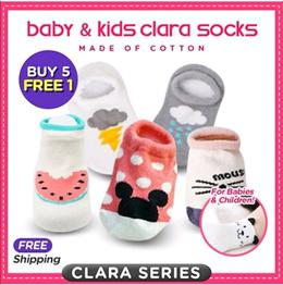 ❤️Kids Baby Clara Socks❤️New series❤️ Local Seller❤️Bootie ❤️ Cotton ❤️ ankle socks ❤️ Buy 5 Free 1❤️Back in Demand New Design Added❤️