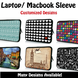 NEW CUSTOMIZED LAPTOP/MACBOOK/TABLET/IPAD/MI PAD SLEEVE CASE★Laptop sleeve case★Samsung/Asus/Lenovo