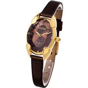 Time100 TIME100 Polyhedral Crystal Dial Ladies Watch, With Stainless Steel Cover, Stylish Casual Le