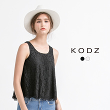 KODZ - Laced Tank Top-171648