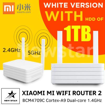 [ NEW ] Xiaomi Mi WiFi Router 2 1TB White
