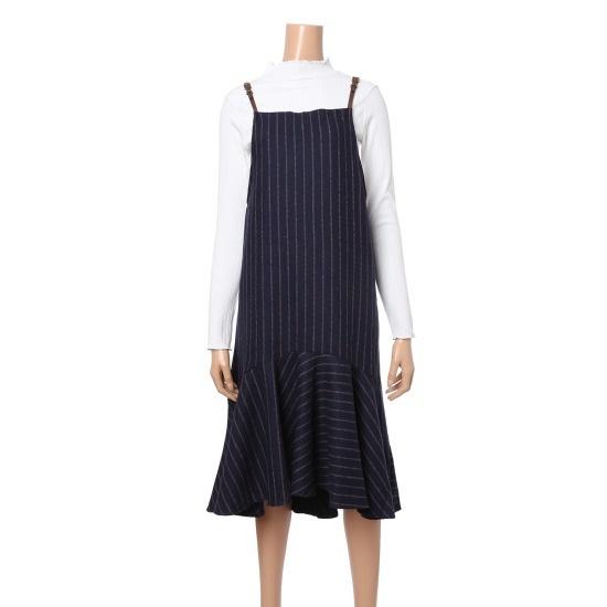カルチャーコール・ストライプワンピースRSOPHB12 面ワンピース/ 韓国ファッション