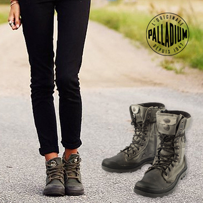 0ba66bef1d9 FOR ADVENTURE HER PALLADIUM BOOTS - PAMPA TACTICAL (WOMEN) FREE SHIPPING  100% AUTHENTIC