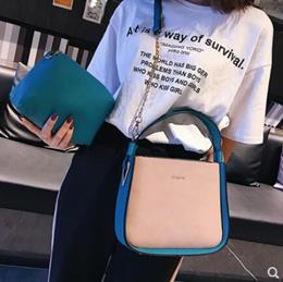 Mother bag female 2018 new bucket bag Korean version of the retro handbag large capacity shoulder