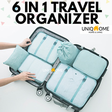 ★CHEAPEST★✈️TRAVEL 6-IN-1 LUGGAGE BAG ORGANIZER ★LINGERIE ORGANIZER★SHOE BAG ORGANIZER★