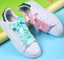 Satin [2cm] - Organza Ribbon Shoelaces Flat Silk Shoes Lace Velvet