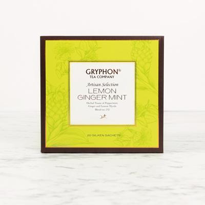 Lemon Ginger Mint Herb   Caffine-Free (20 Sachets)