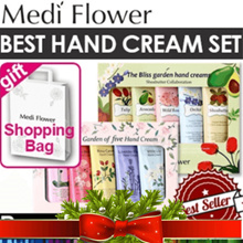 XMAS Gift ☆Free shipping back★[Medi Flower] 2018 new The Secret Garden Hand Cream Set 5sets