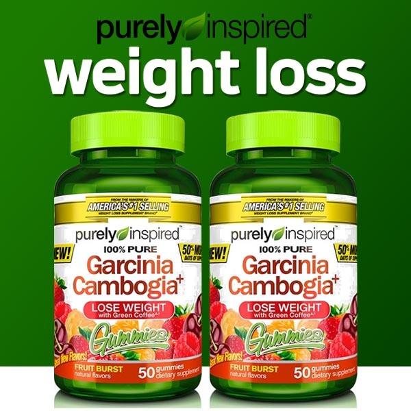 Qoo10 Purely Inspired Garcinia Cambogia Gummies Fruit Burst 50