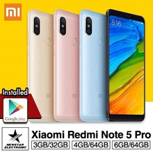 [GROUP BUY]Xiaomi Redmi Note 5 Pro High Edition 6GB/64GB * 4GB/64GB * 3GB/32GB