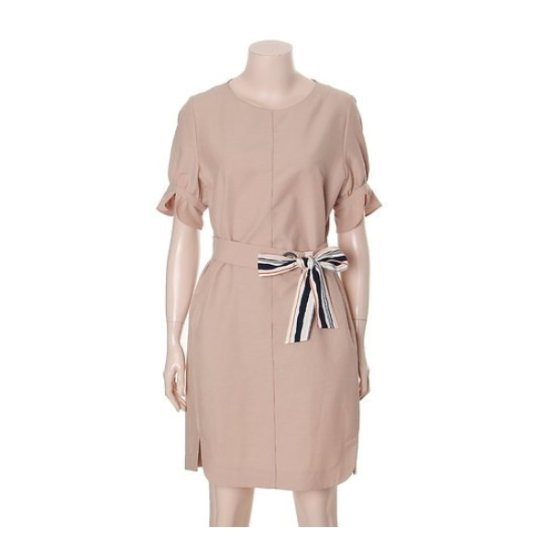 チンウォンイエンシ、フリル小売ベルトワンピースENOW73744W 面ワンピース/ 韓国ファッション