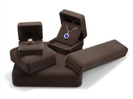 Flannel box jewelry box ring box high-grade necklace box gift box pendant bracelet box