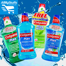 【Colgate】Plax Mouthwash Peppermint Fresh/Fruity Fresh/Freshmint/Optic White/Ice/Fresh Tea 1L