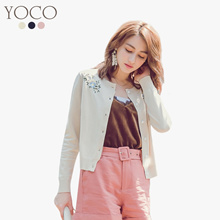 YOCO - Buttoned Up Floral Cardigan-180366
